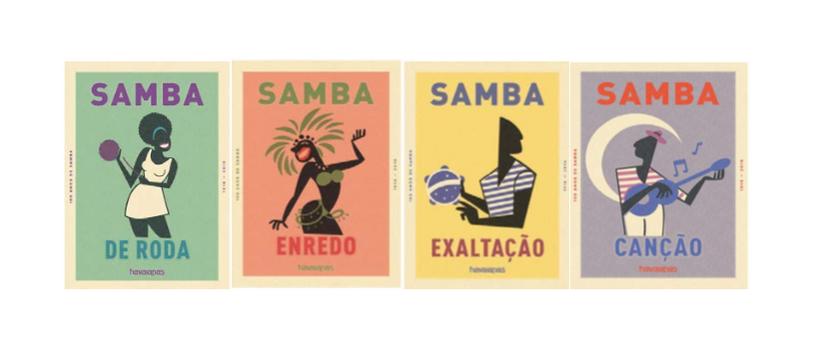 posters de samba