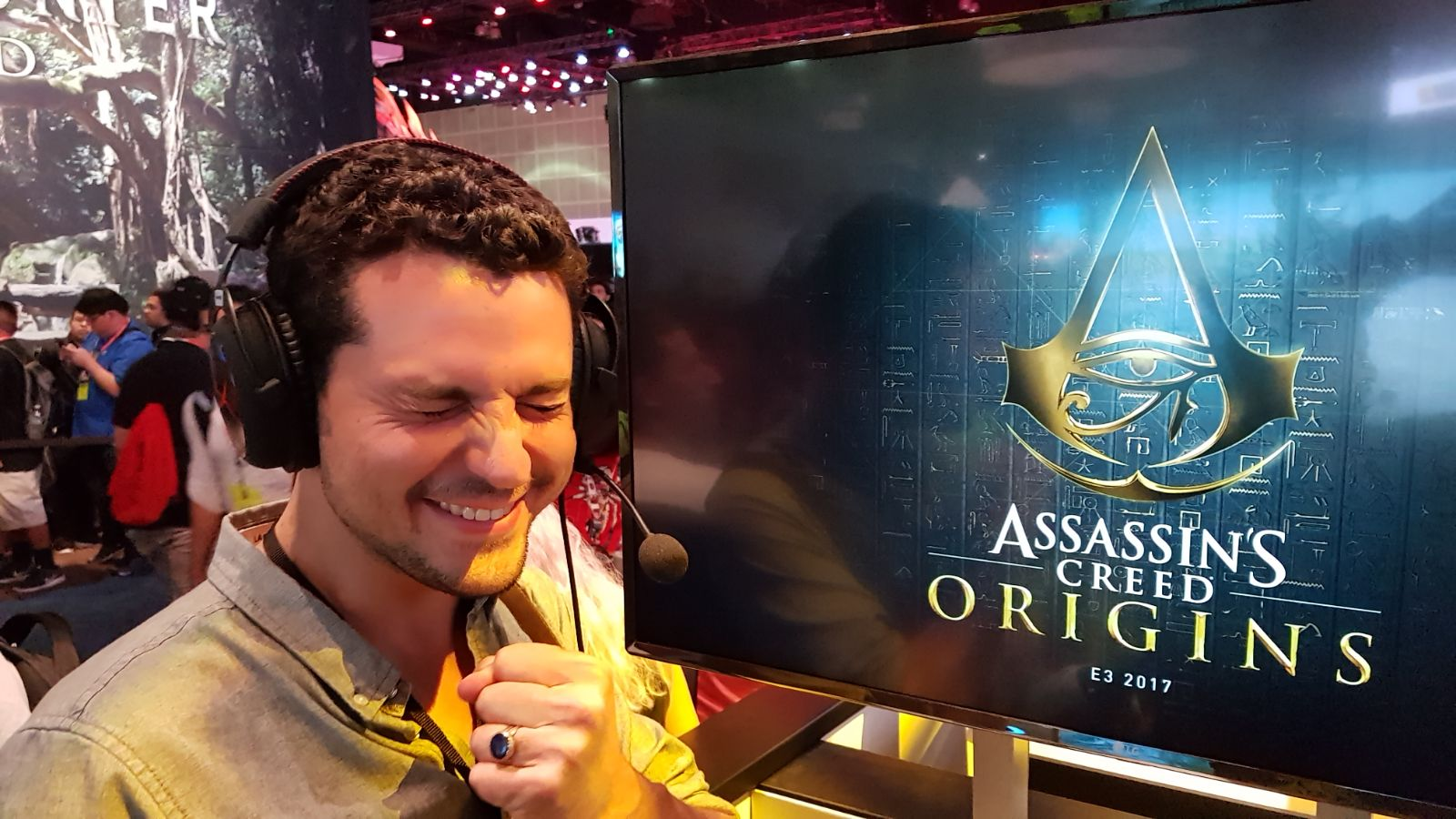 Stand Ubisoft E3 2017 Assassin's Creed Origins
