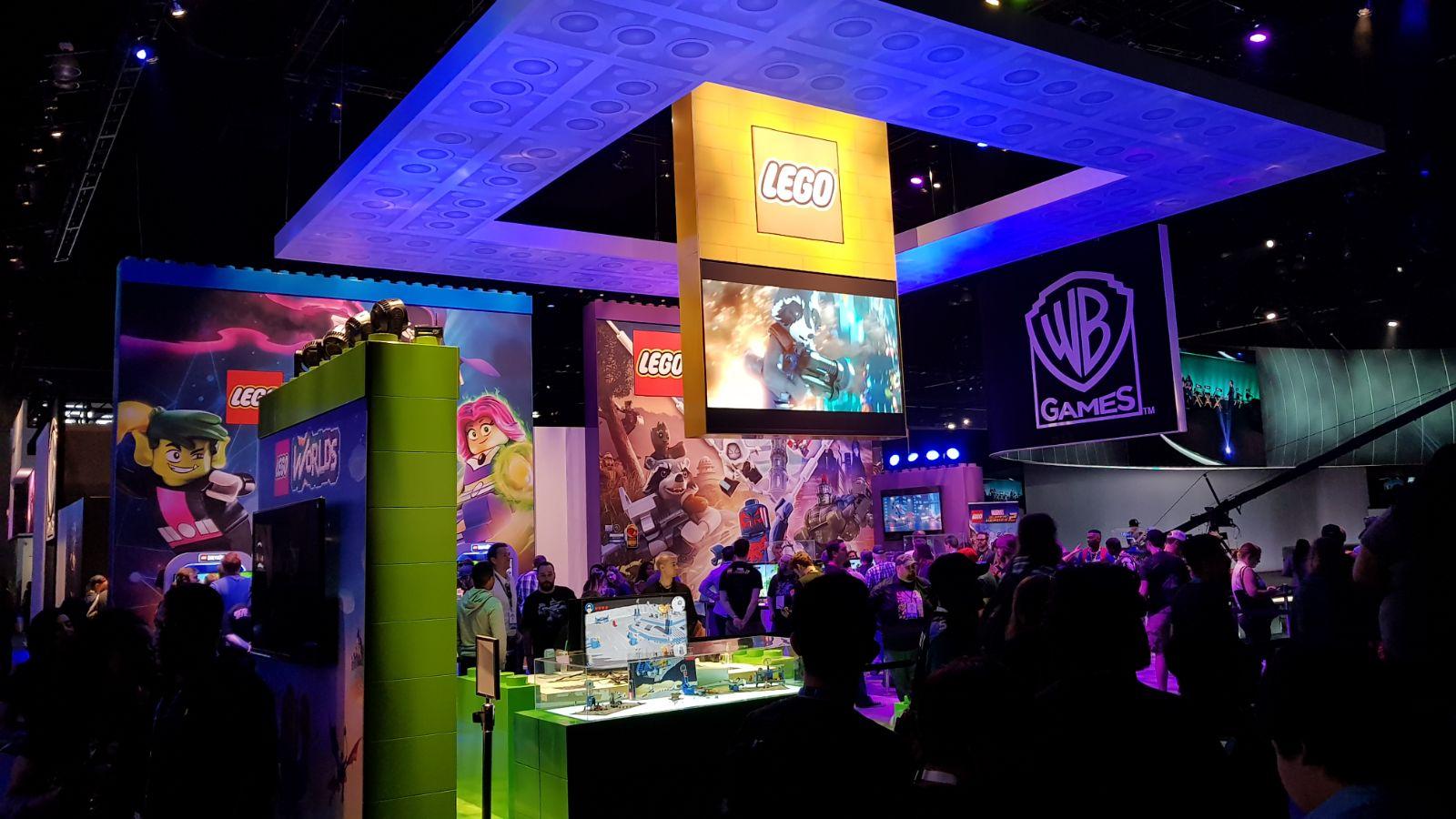 stand Lego warner bros E3