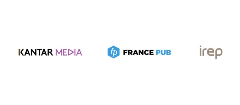 logos kantar media france pub irep