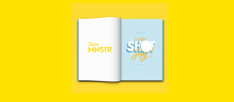 MNSTR JOY BOOK