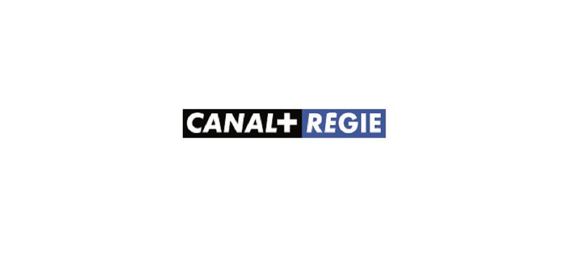 logo canal+ régie