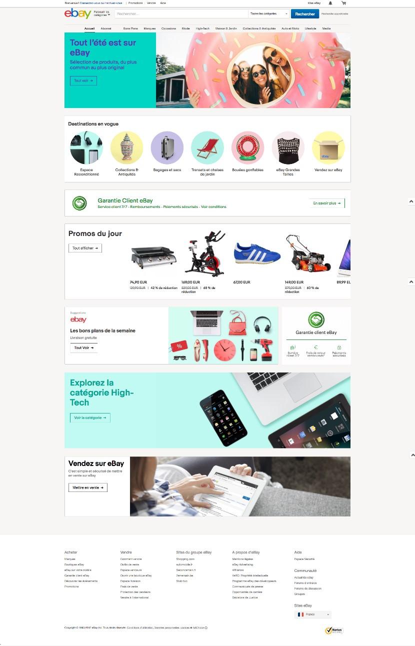 site web Ebay