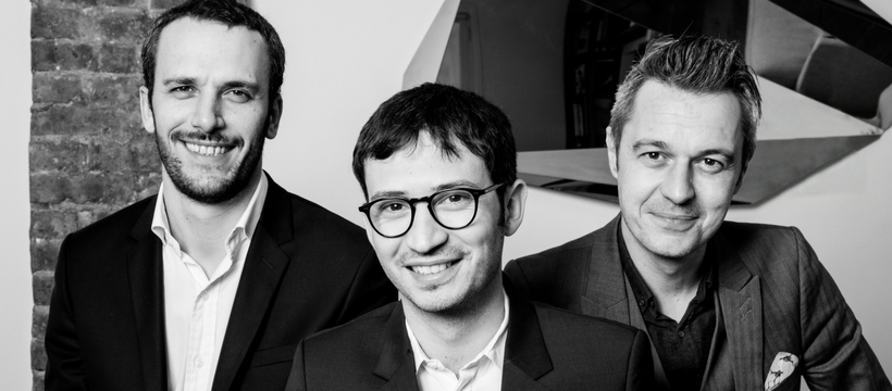 Thomas Derouault, Virgile Brodziak et Florent Depoisier