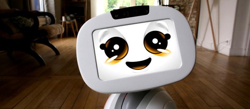 Buddy petit robot assistant vocal