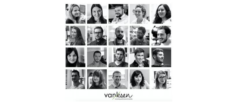 mosaïque nouveaux postes à l'agence Vanksen
