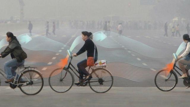 vélo pollution