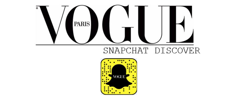 logo vogue snapchat discover