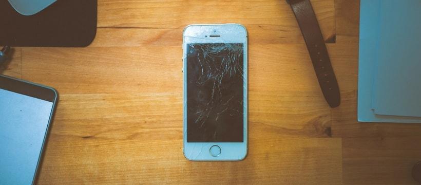 iPhone cassé