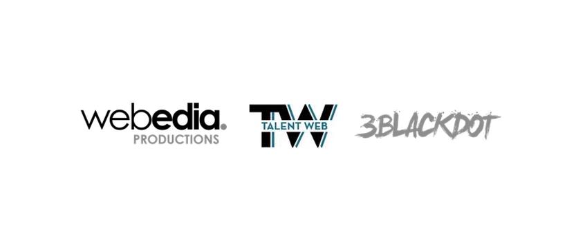 logos webedia 3BlackDot talentweb