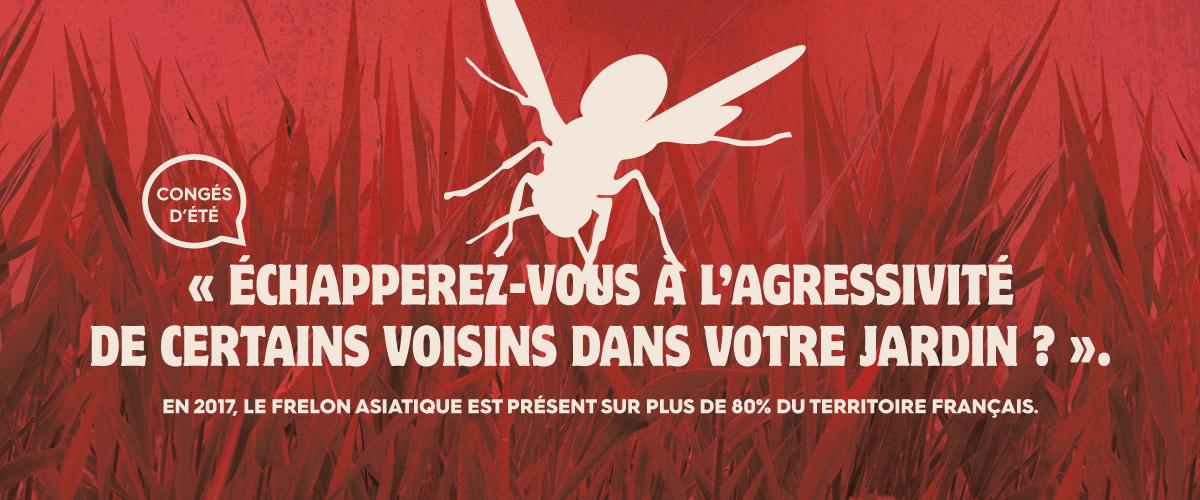 CS3D affiche insecte ontre les nuisibles