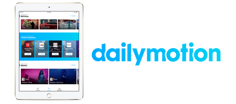 nouvelle version dailymotion