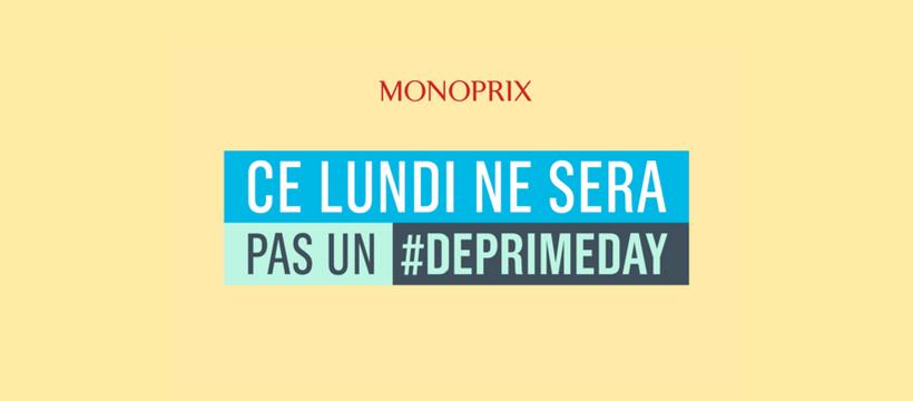 Monoprix #DeprimeDay