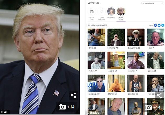 Donald Trump Badoo