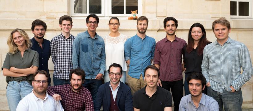 équipe de la startup foxintelligence