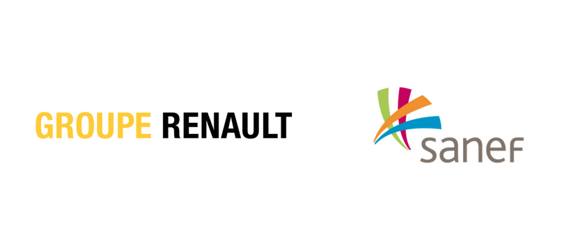 logos renault sanef
