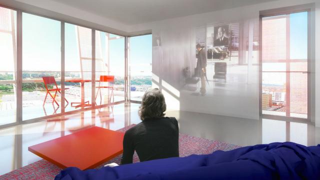 appartement type de la nouvelle tour Ycone