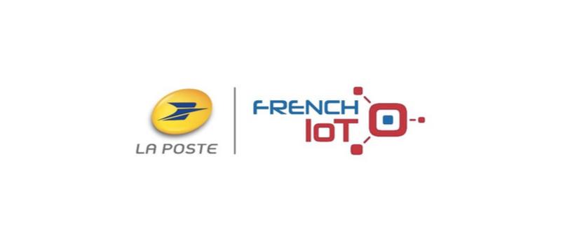 logos la poste & french iot