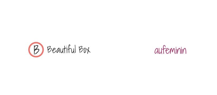 logos au feminin beautiful box