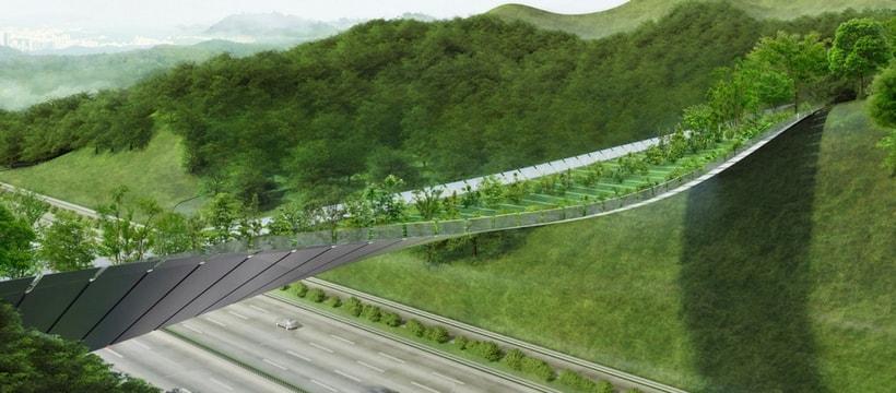 Pont écologique - Corée