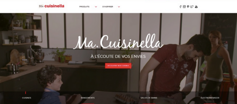 site web cuisinella