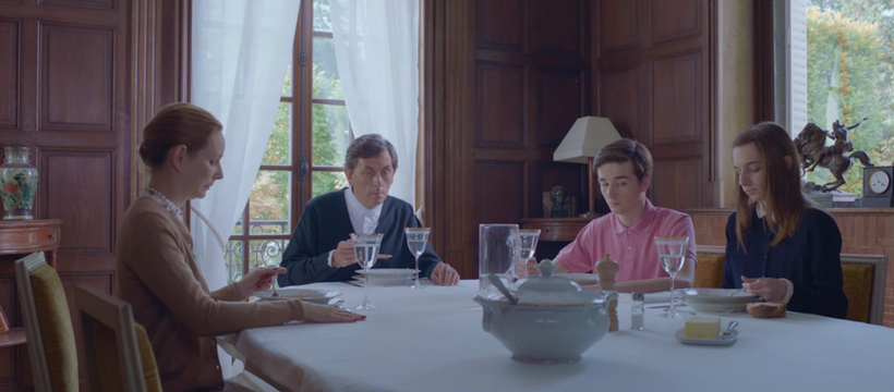 famille d'aristocrates pour la campagne Samsung