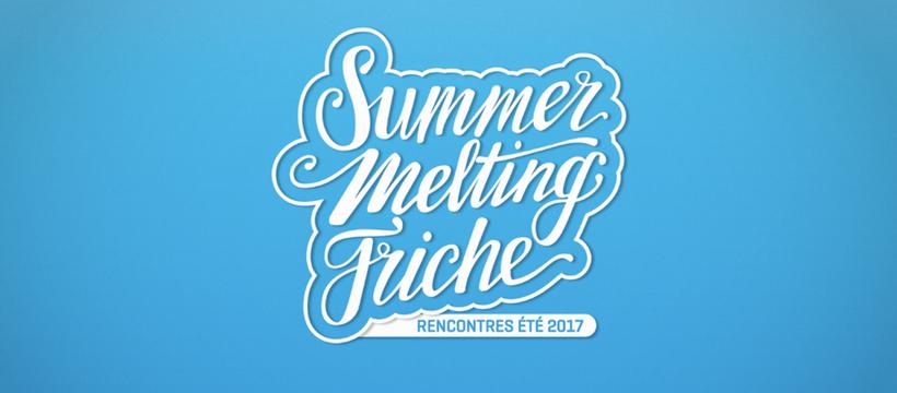 logo summer melting friche