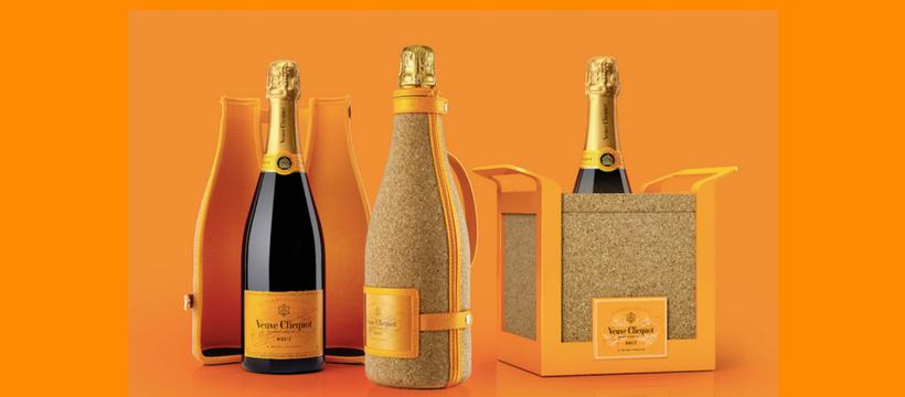 packaging Veuve Clicquot