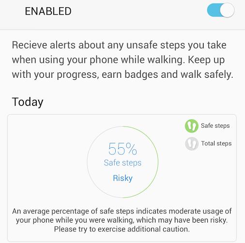 Walk Mode explications