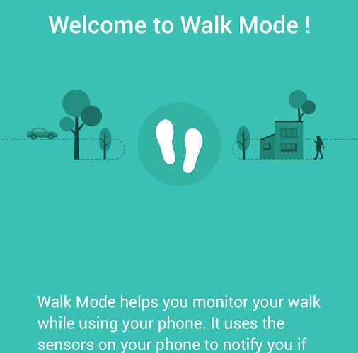 walk mode