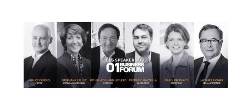 Speakers de la 01 Business Forum