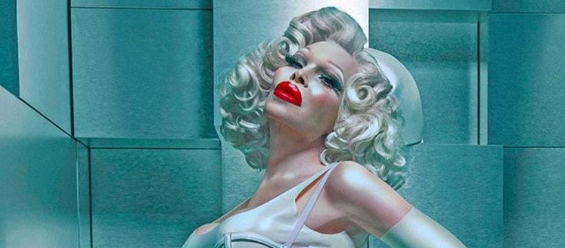 Amanda Lepore pour Jigsaw et le don du sang LGBTQ+