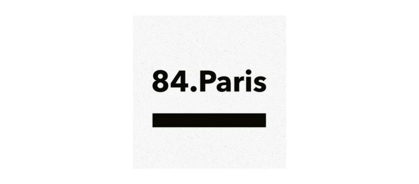 84.Paris Logo