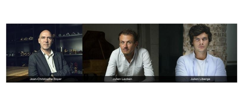 Julien Levilain, Jean-Christophe Royer, Julien Liberge