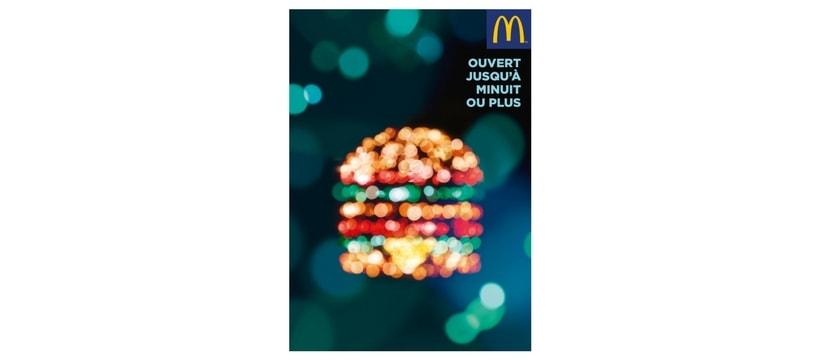 Big Mac lumineux McDonald's
