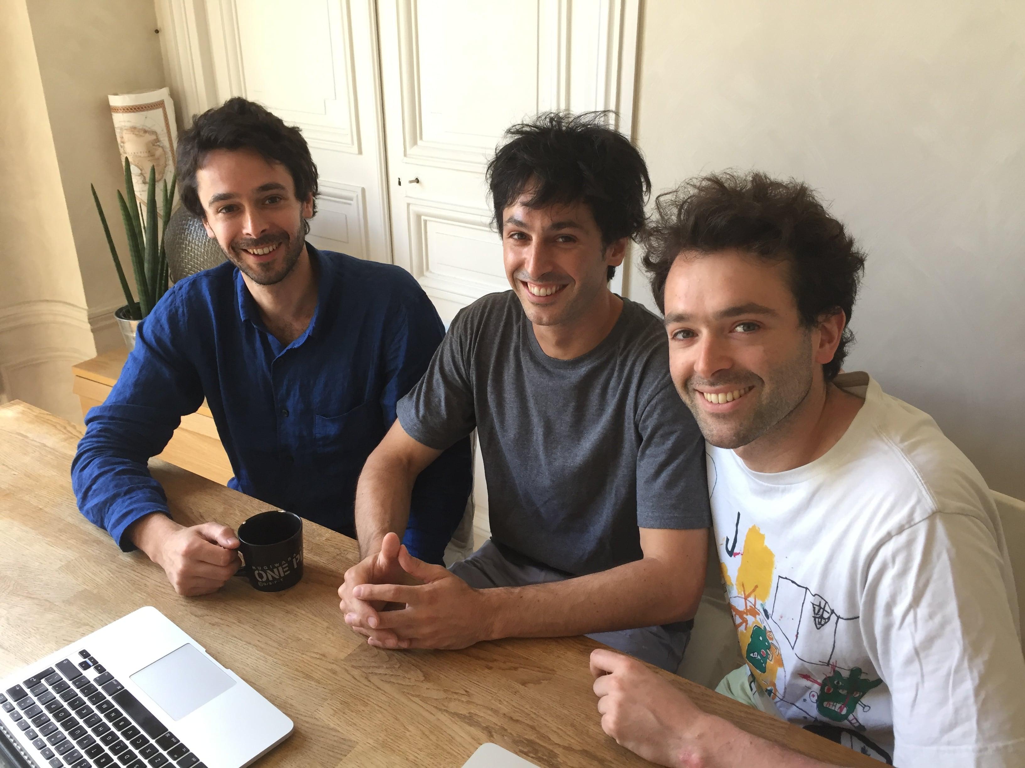 Thomas, Jonathan et Axel Lang