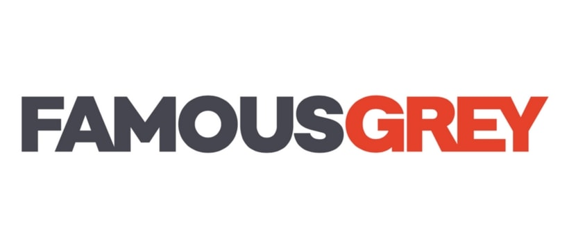Famous Grey Logo