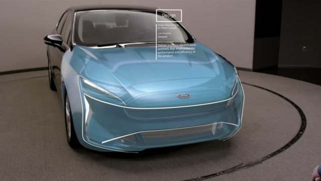 hololens ford automobile