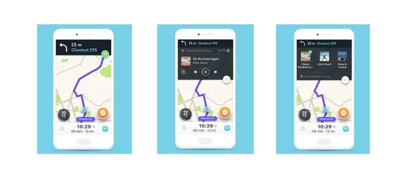 Waze Spotify
