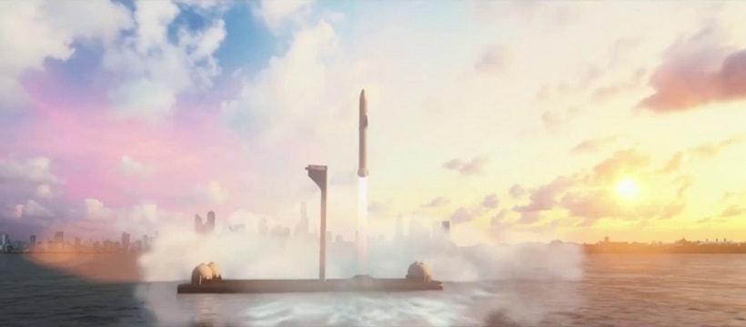 Big fucking rocket Elon Musk