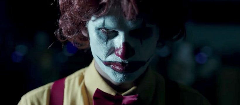 Clown Ronald McDonald's dans la publicité US de Burger King