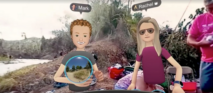 Zuckerberg explique Facebook Spaces à Porto Rico