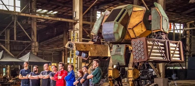 Robot de combat américain pour Megabots