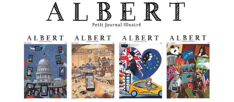 Albert magazine
