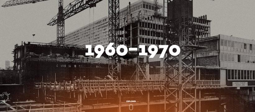 photo du chantier de la tour montparnasse