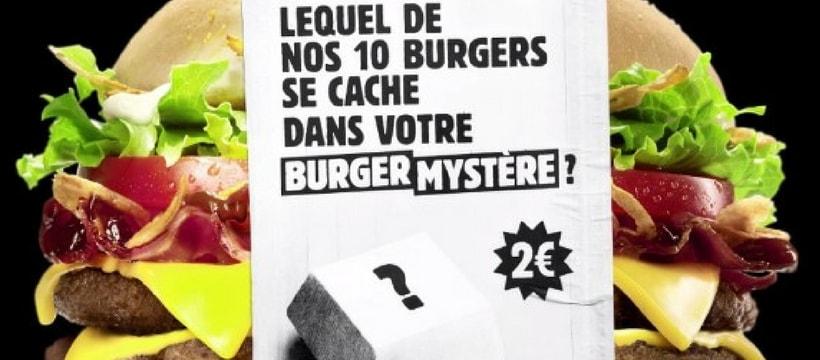 Burger Mystere campagne
