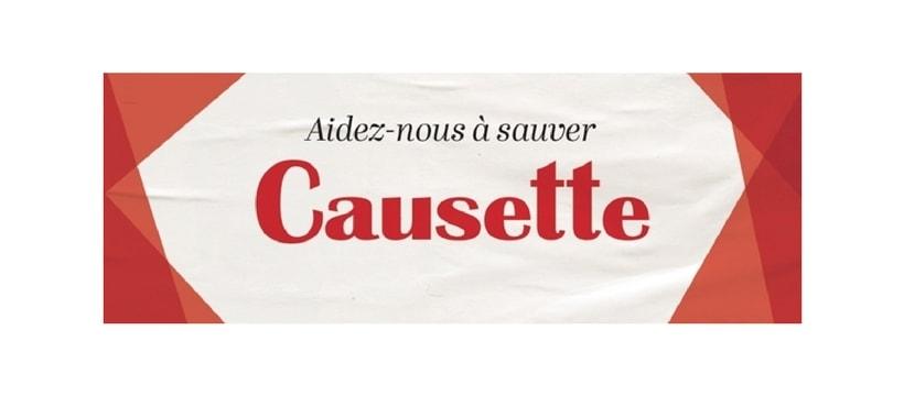 Causette logo crowdfunding