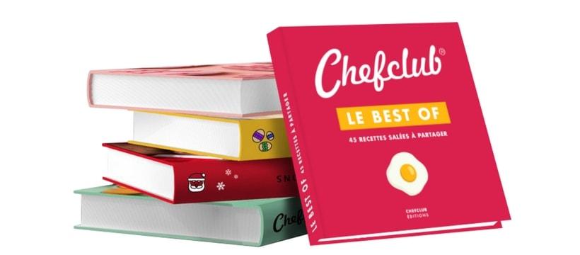 Startup La Chaine De Recettes Chefclub Sort Son Livre Pour