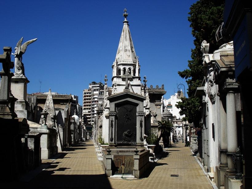 Un cimetière hanté à Buenos Aires