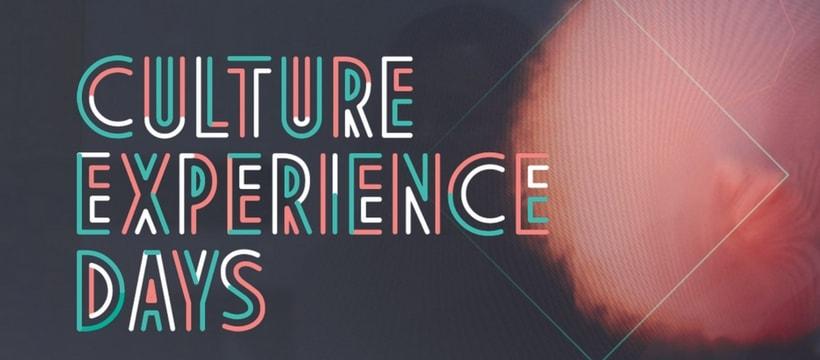 affiche des Culture Experience Days